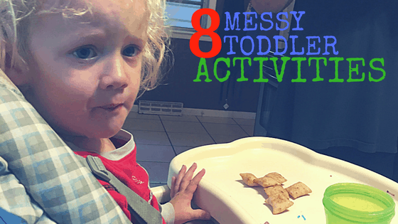 8 Messy Toddler Activities at idyllicpursuit.com