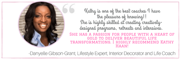 Danyelle Gibson-Grant's testimonial about Kathy Haan at idyllicpursuit.com