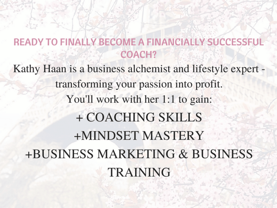 READY TO BECOME A FINANCIALLY SUCCESSFUL COACH?