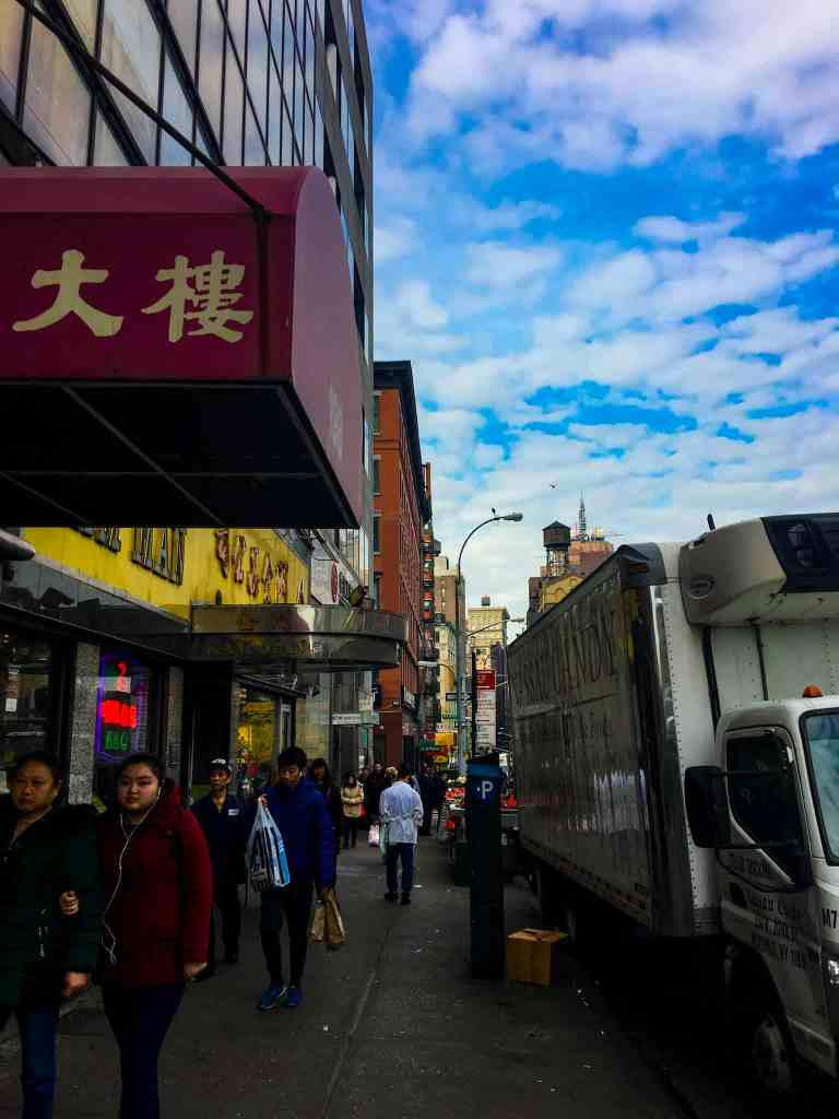How to Spend a Week in NYC with Family. We loved China Town!