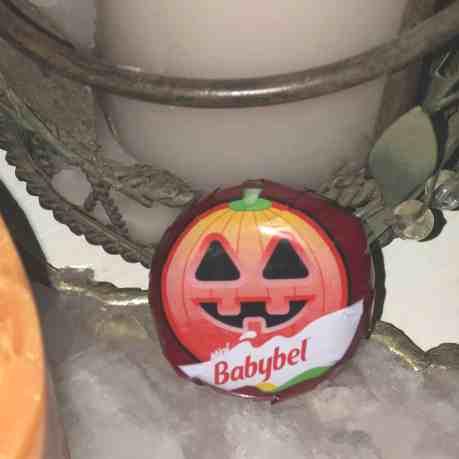 Mini Baybel Halloween Cheese