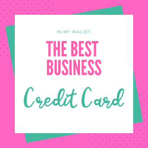 The Best Business Credit Card of 2019