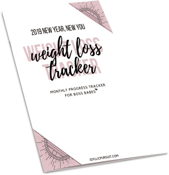 How to Track Weight Loss {Free Printable!} - Idyllic Pursuit