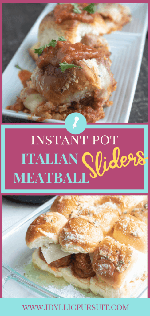The Best Instant Pot Italian Meatball Sliders