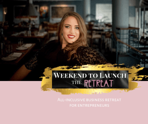 Weekend to Launch - the Retreat