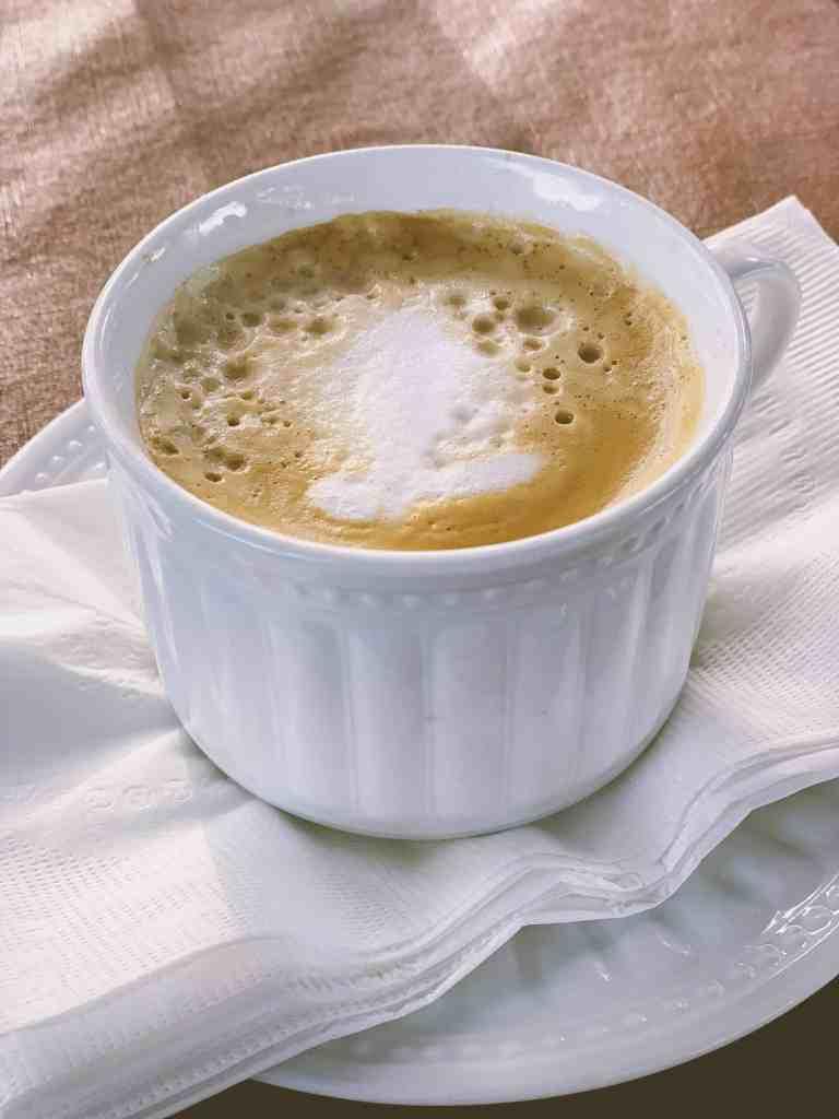 A Kansas girlfriend's getaway -- enjoying a cappuccino at Mama Mia's in Leavenworth, KS!