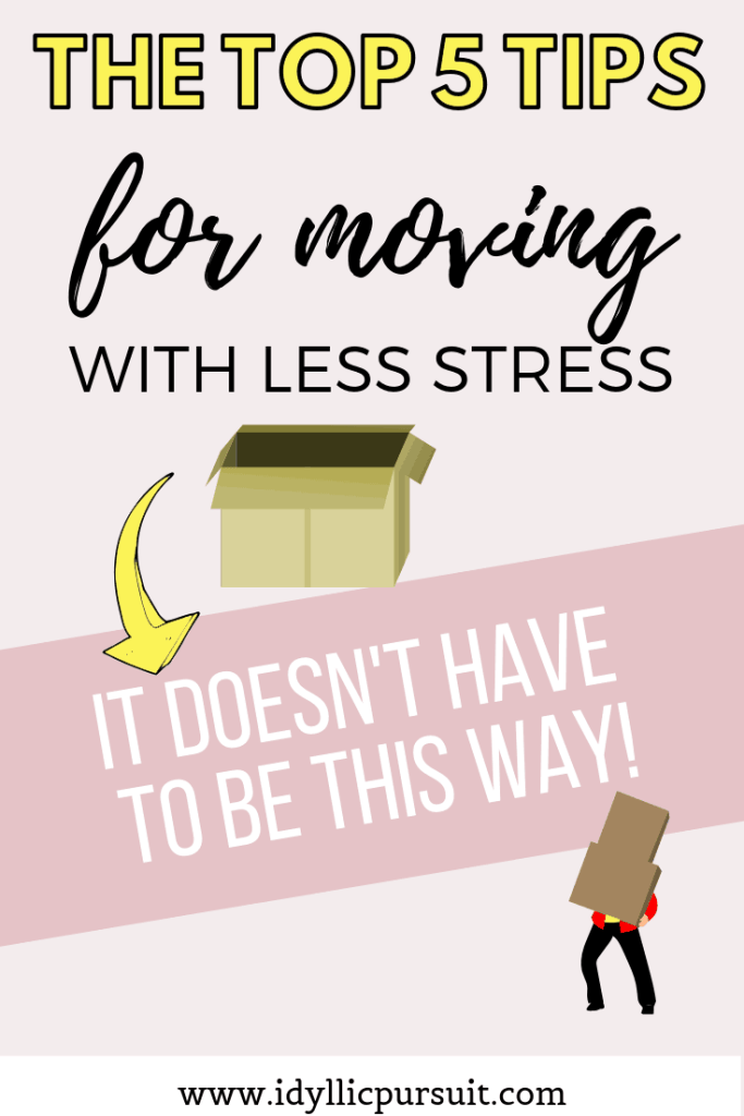 Moving soon? Here are 5 tips for less stress moving