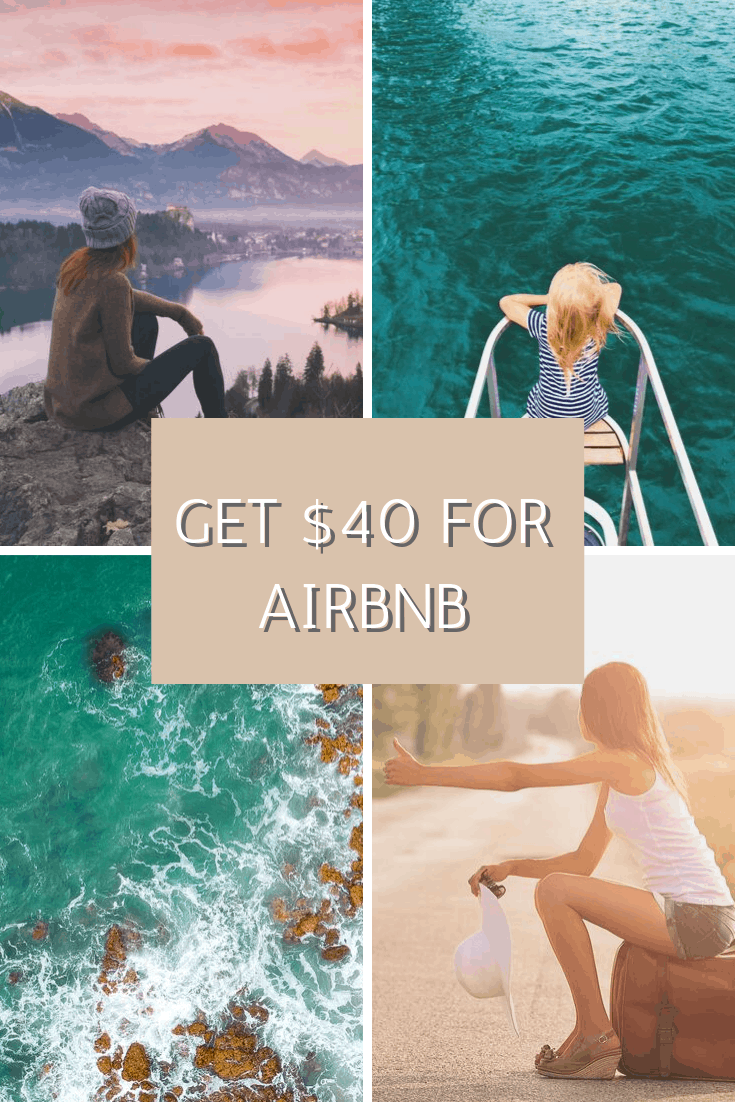 Get $40 for AirBnB coupon