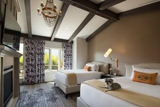 Bernardus Lodge & Spa bedroom