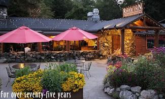 Big Sur River Inn patio
