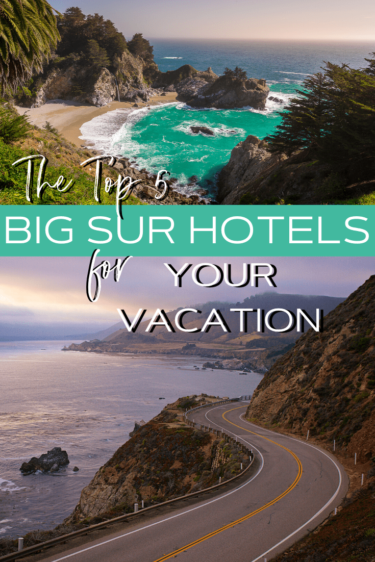 Big Sur is home to towering redwoods and a rugged coastline. It\'s the perfect vacation spot for couples and families alike. Here are the top five Big Sur hotels to check out.