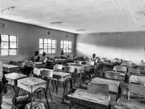 Emarti School next to Enonkishu Conservancy in the Maasai Mara, Kenya