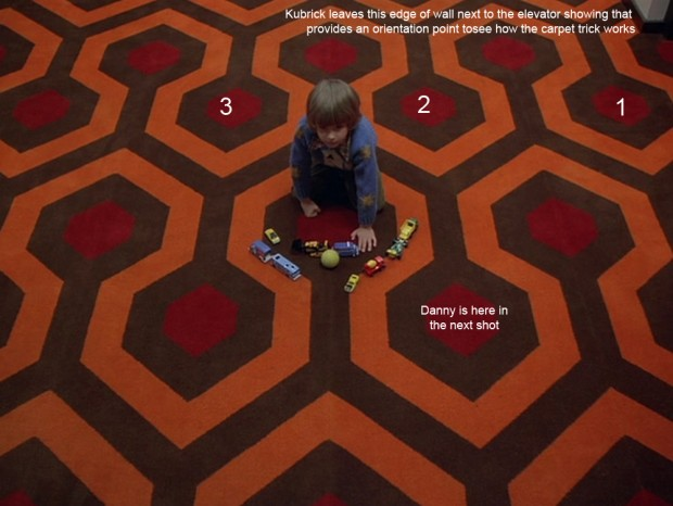 The Shining - The Carpet Trick