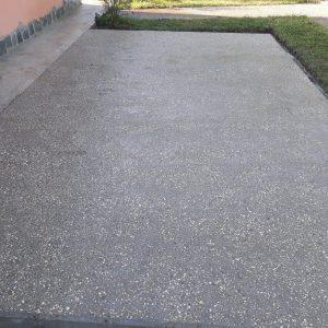 Cemento in ghiaino lavato ad Aprilia