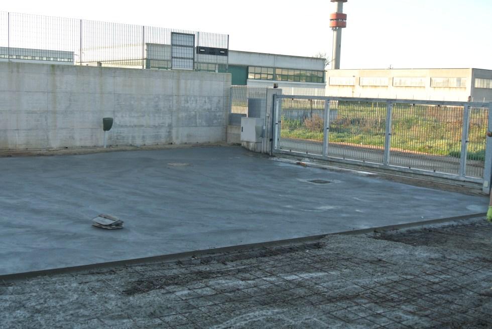 Piazzale in cemento Industriale a Lavinio