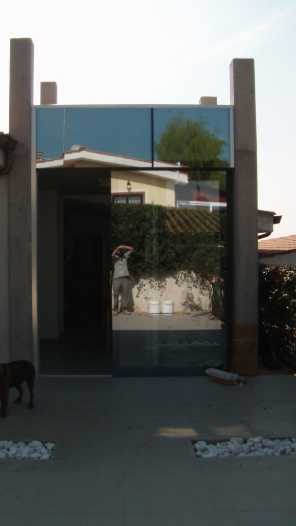 Serra solare a Pomezia