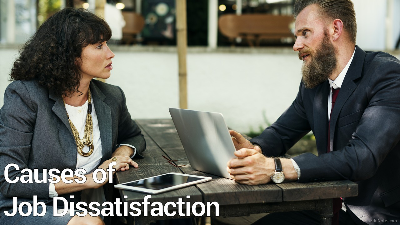 Causes of Job Dissatisfaction