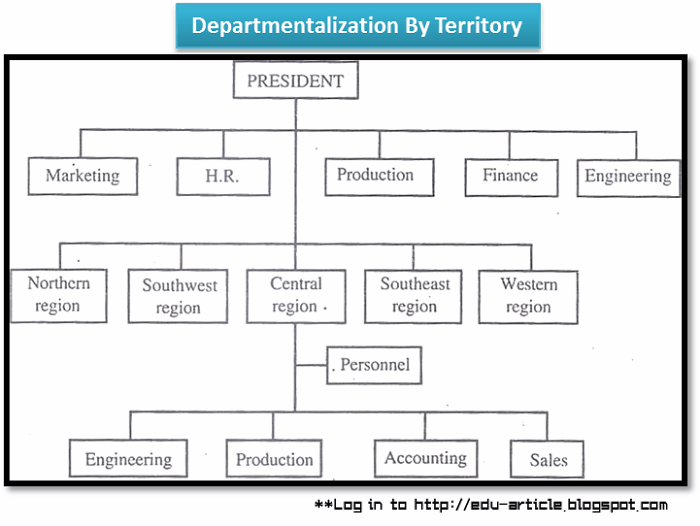 Departmentalization by Territory: Advantages and Disadvantages