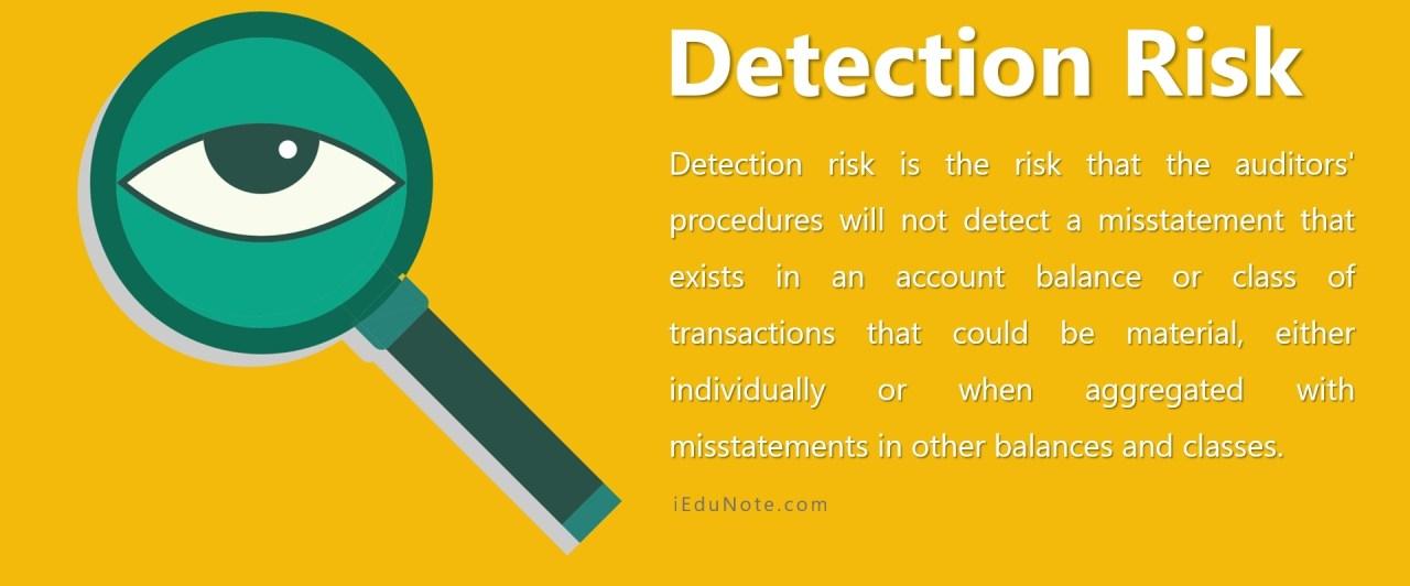 Detection Risk
