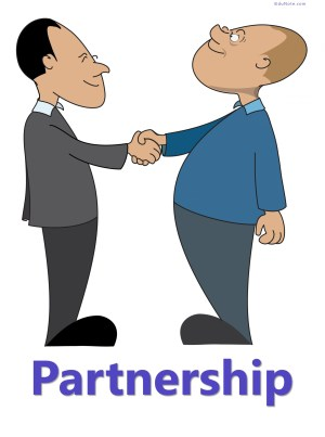 A partnership is a relation between two or more persons who join hands to form a business organization to earn a profit.