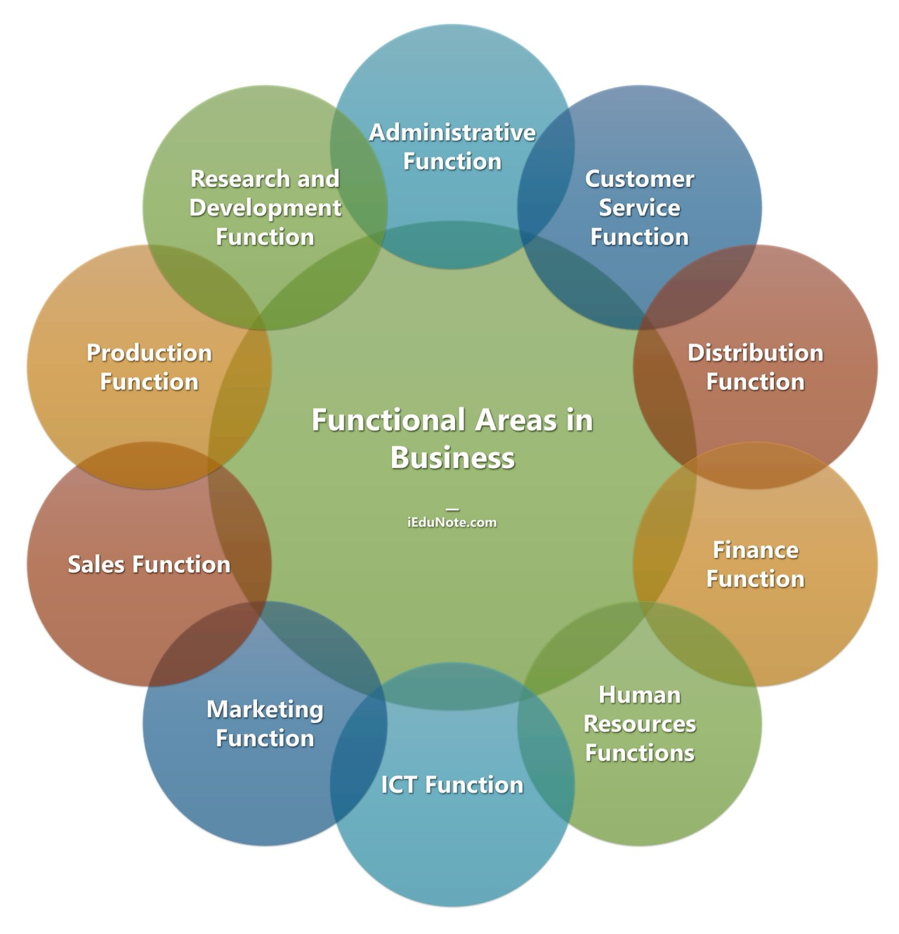 Functional Areas in Business