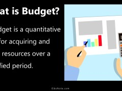 Budget: Definition, Classification and Types of Budgets