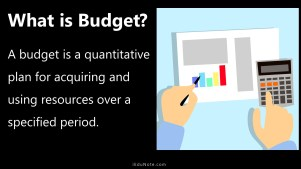 what is budget?