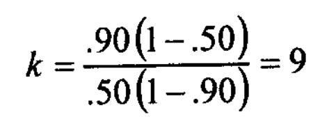 Spearman-Brown prophecy formula 3