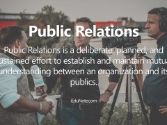 Public Relations: Definition, PR Tools, Public Relations Decisions