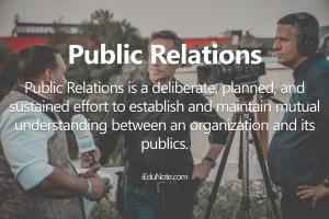 Public Relations: Definition, PR Tools, Public Relations Decisions
