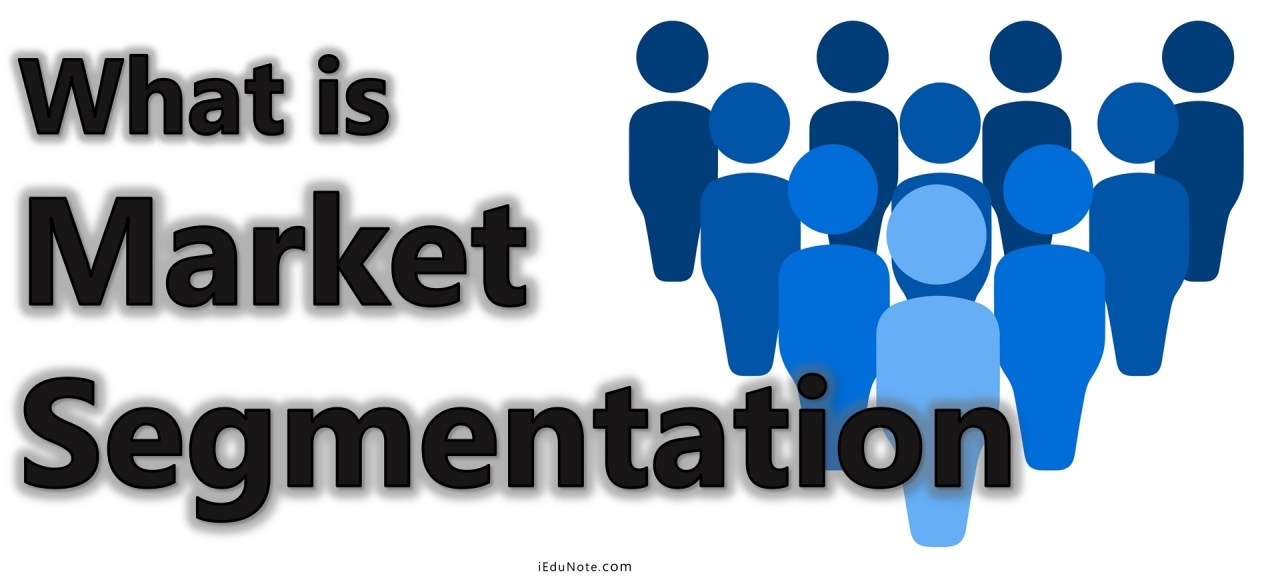 market segmentation definition and meaning