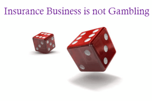 Insurance is not Gambling