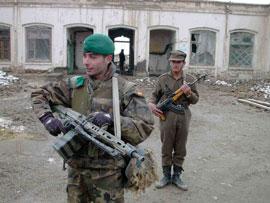 Soldado afgano