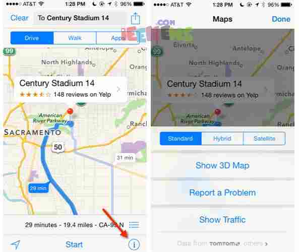 How To Get Transit And Walking Directions With Google Maps Using - Get walking directions google maps