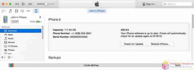 Restore using iTunes - iPad factory reset without password