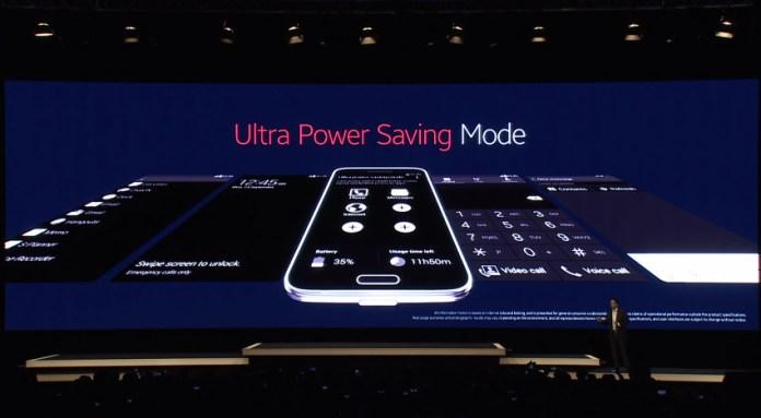 turn galaxy s6 ultra power saving mode