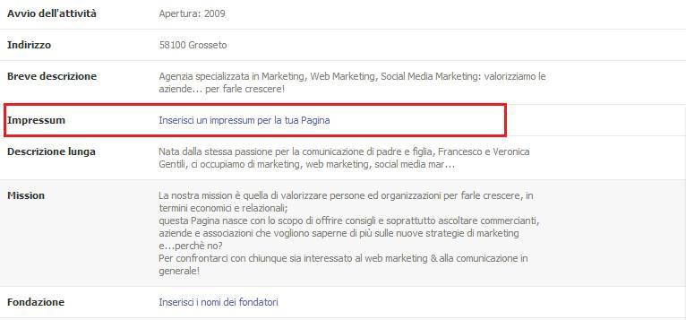 Impressum Example] Impressum Facebook Example An Guide For Facebook ...