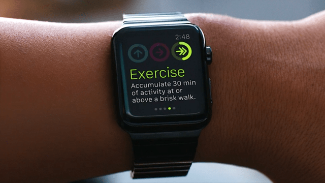 Does apple watch track Steps? The Exercise ring