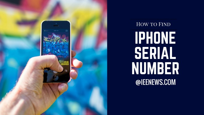 Find serial number on iPhone 5: How do I find the serial number on my iphone 5?