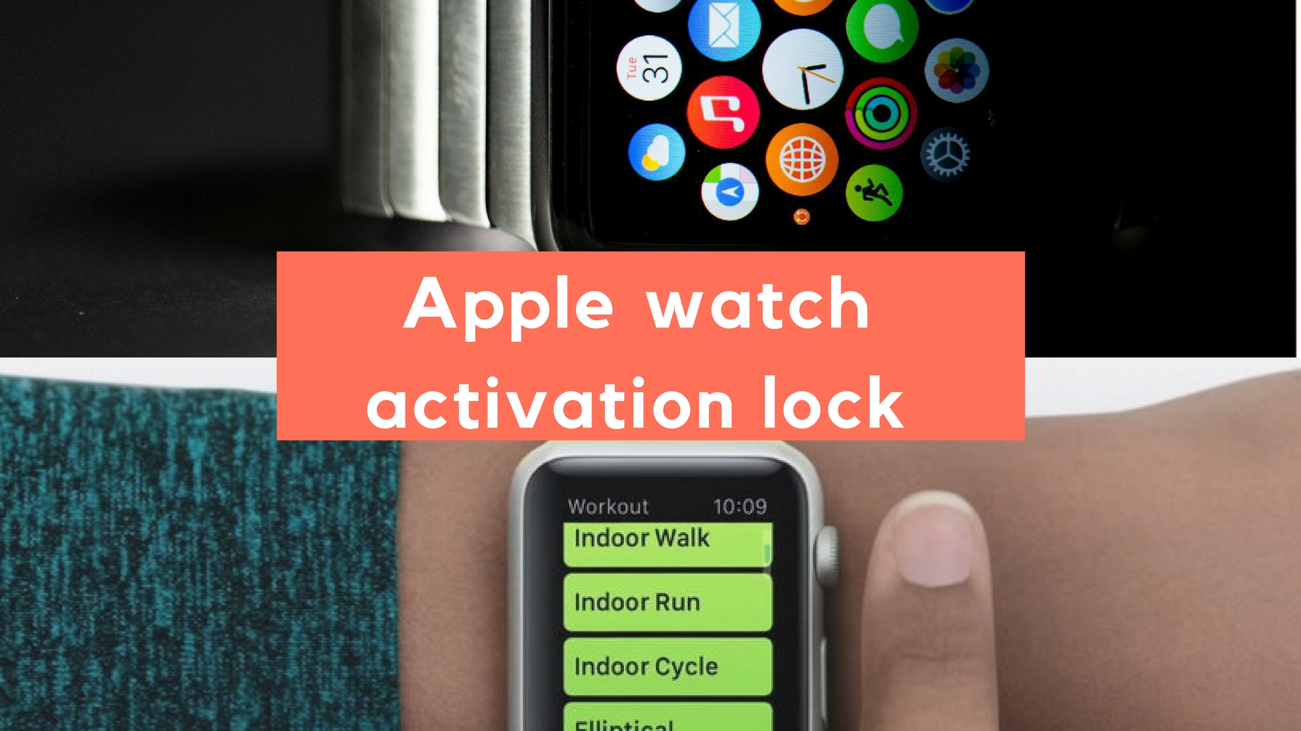 About Activation Lock on your Apple Watch: Disable activation lock apple watch: Apple watch activation lock Removal: