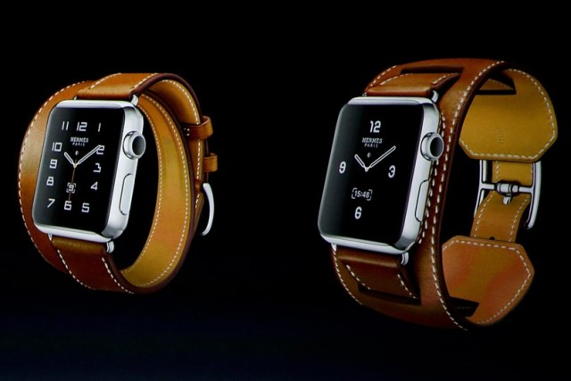 Hermes watch face: Hermès Apple Watch clock face