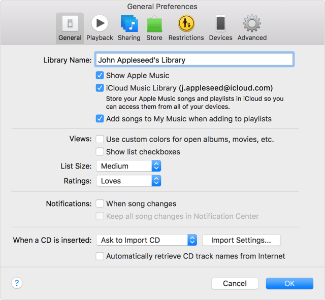 "Click the General tab, then select iCloud Music Library. Click on the iTunes menu and pull down to and select ""Preferences"". Turn off iCloud Music Library or Disable iCloud Music Library On Winodws PC: Disable iCloud Music Library Using iTunes"