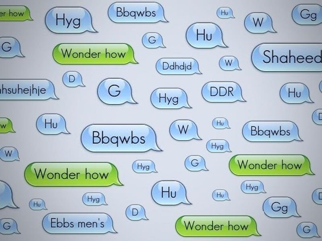 Anonymous text bomb iphone