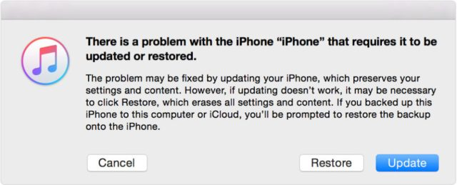 Erase iPhone 4 or Unlock Disabled iPhone 6 with recovery mode