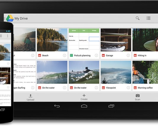 Synchronize Android Tablet Files with Google Drive