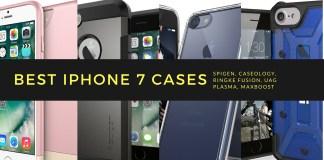 Best iPhone 7 Cases for Your new iPhone: Spigen, Caseology, Ringke Fusion, UAG Plasma, Ringke Fusion, Apple Smart Battery Case Caseology Parallax, Spigen Tough Armor