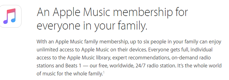 Apple family sharing multiple payment methods: Family sharing without shared payment, Family sharing separate payment, Apple family sharing pay separately : Family sharing individual payment