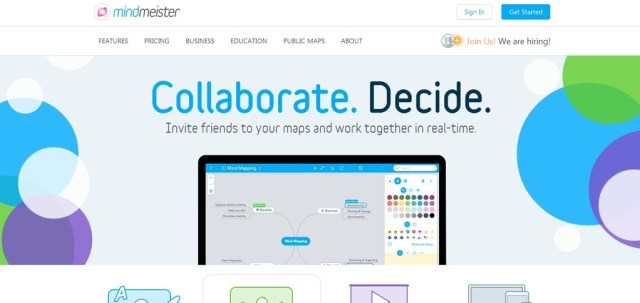 MindMeister: Online Mind Mapping tool, Cloud Based Mind Mapping Tool