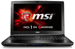 MSI GL62 7QF-1660 Gaming Laptop