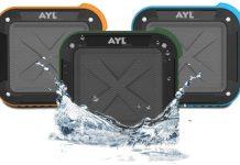 AYL Portable Waterproof Speaker Review ($27.99) AYL Bluetooth speaker